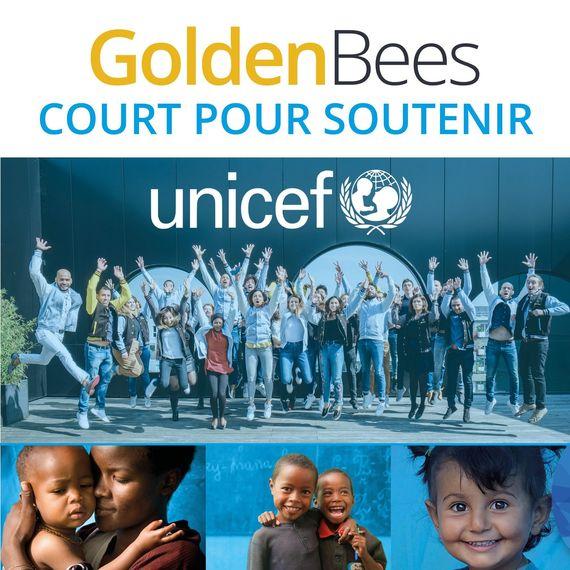 Golden Bees court pour l'Unicef