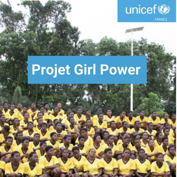 Collecte pour le programme Girl Power