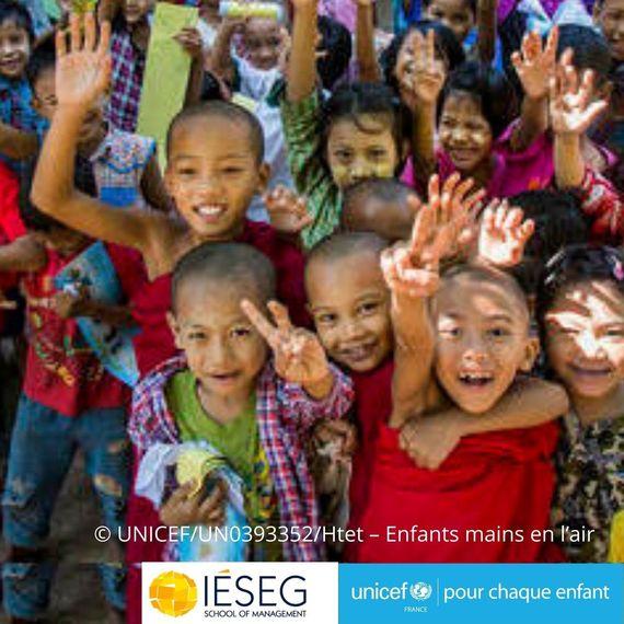 Un don pour lutter contre la pollution au Myanmar- IESEG x UNICEF
