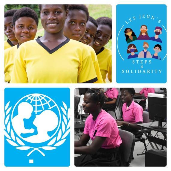 """Collecte de fonds du programme """"Girl Power"""" en Côte d'Ivoire"""