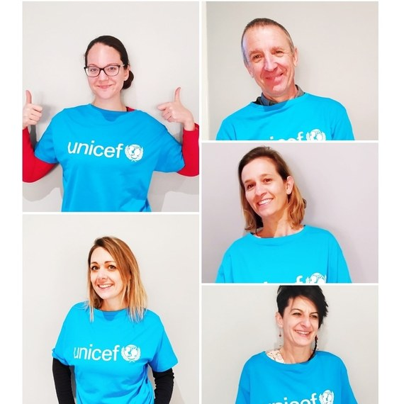 Let's walk for UNICEF