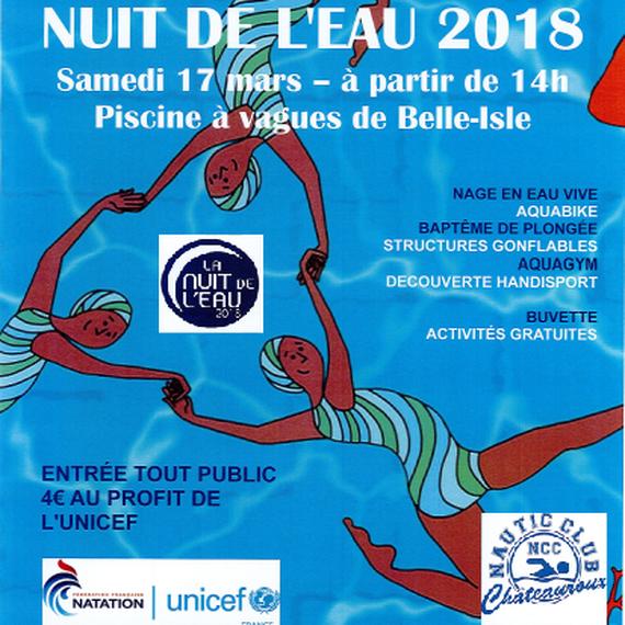 Nuit de l'eau 2018 - Châteauroux