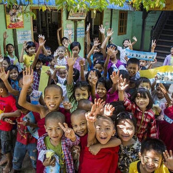 Mobilisons nous pour les enfants du Myanmar !