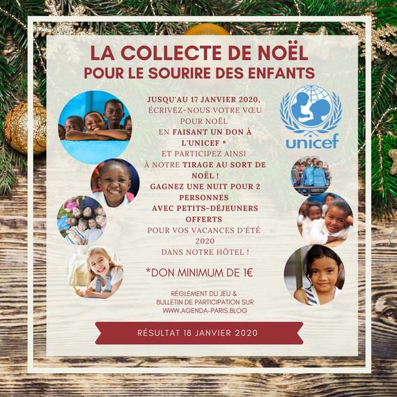 La collecte de Noël - DONNER LE SOURIRE AUX ENFANTS