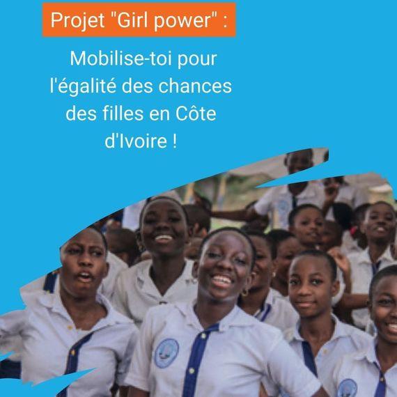 Mobilise-toi pour l'égalité des chances des filles en Côte d'Ivoire