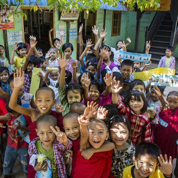 Soutenons les enfants du Myanmar