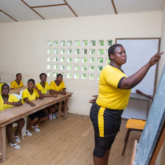 L'égalité des chances pour les jeunes filles en Côte d'Ivoire