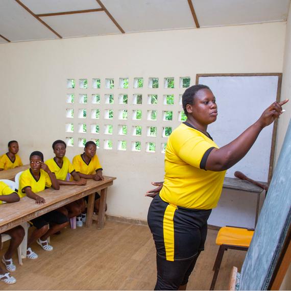 """""""Girl Power"""" en Côte d'Ivoire : une chance pour toutes"""