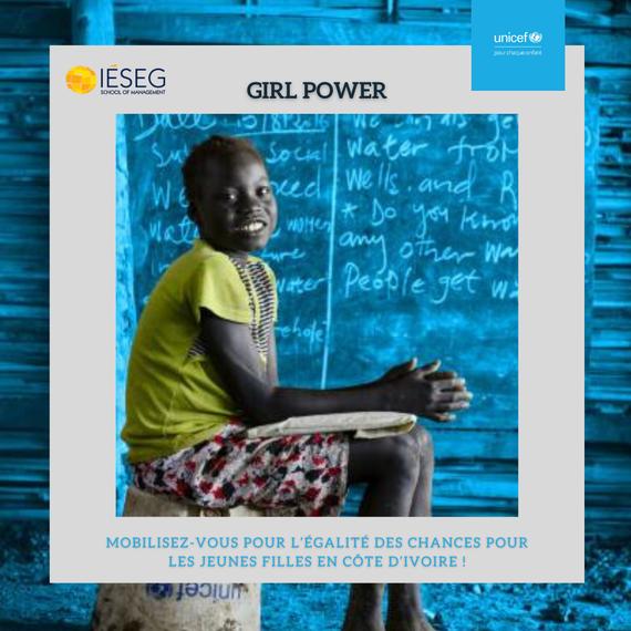 Soutenez l'égalité des chances pour les jeunes femmes en Côte d'Ivoire