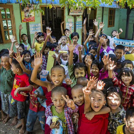 Collecte de dons UNICEF Projet Myanmar