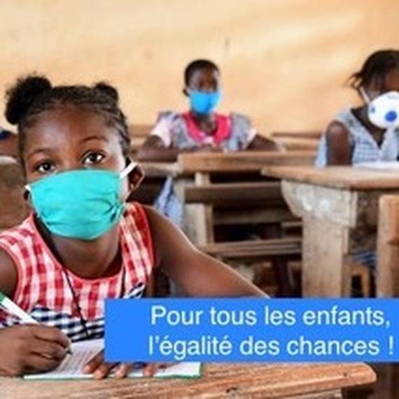 TOUS ENSEMBLE POUR L'ÉGALITÉ FILLES-GARÇONS EN AFRIQUE