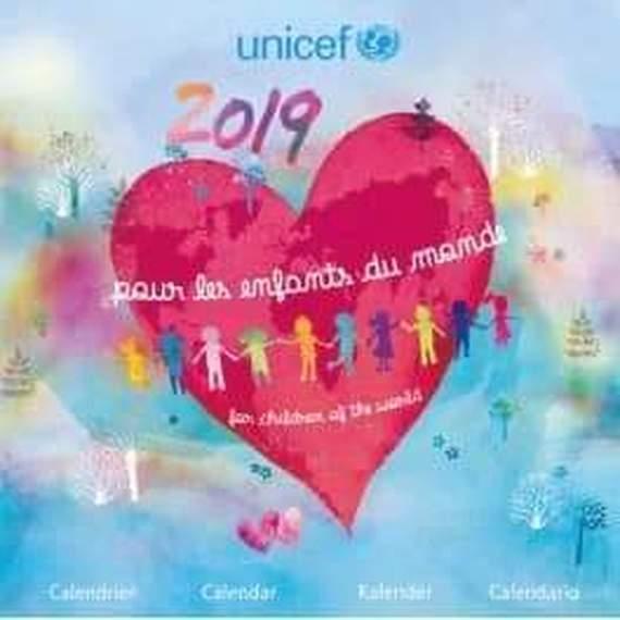 Un coeur à vélo pour l'UNICEF