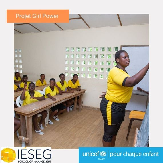 Projet Girl Power IESEGxUNICEF