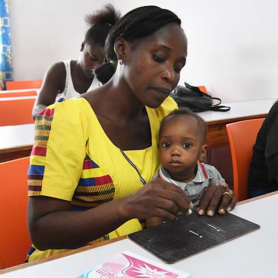 Ensemble, mobilisons nous afin d'assurer l'égalité des chances pour les jeunes filles en Côte d'Ivoire