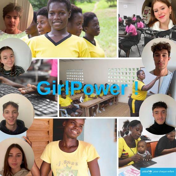 Tous unis pour le projet Girl Power !