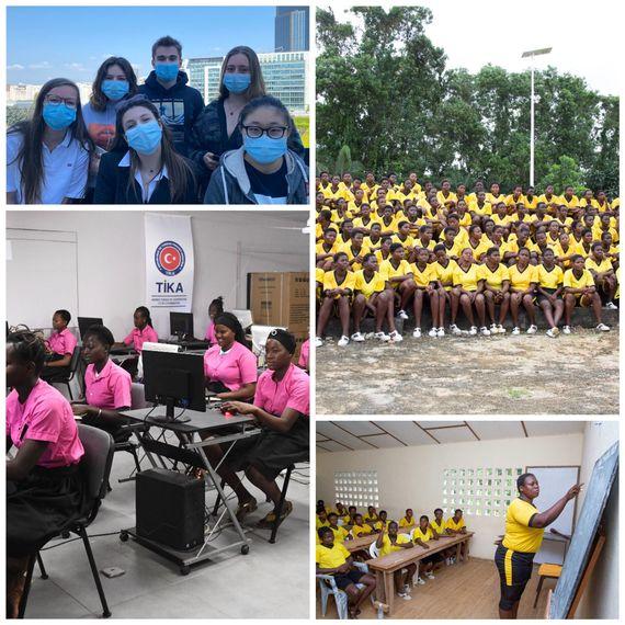 "Projet ""GIRL POWER"" en Côte d'Ivoire"