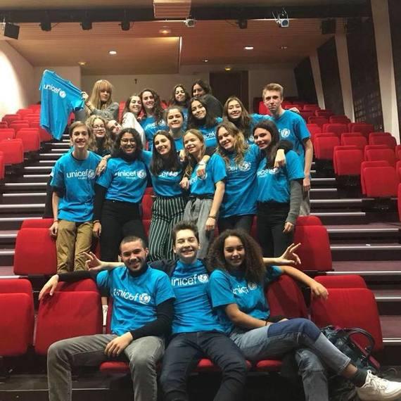 Jeunes Ambassadeurs Paris de l'UNICEF