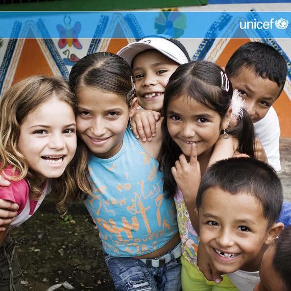 Fêter l'anniversaire de Lahna avec tous les enfants du monde et l'Unicef !