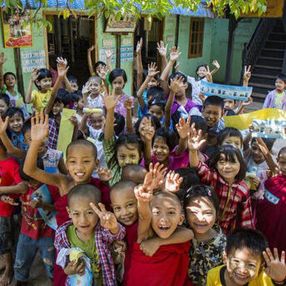 Ensemble, redonnons un second souffle aux enfants du Myanmar