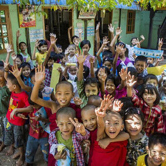 Lutte contre la pollution au Myanmar pour aider les enfants