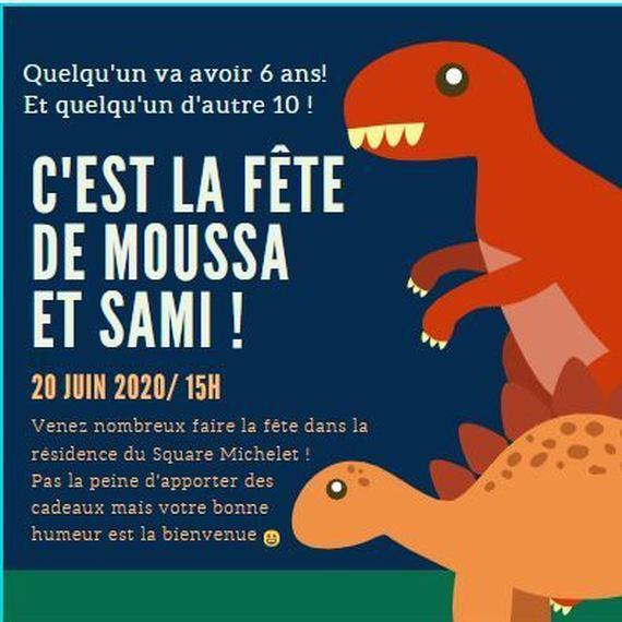 Anniversaire de Moussa et Sami