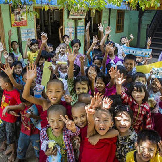 Collecte de dons en faveur des enfants victimes de la pollution de l'air au Myanmar (UNICEF)