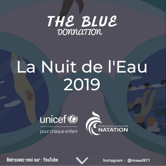 BLUE donnation (UNICEF)
