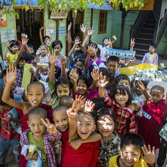 Contre la pollution au Myanmar