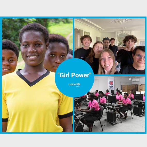 Collecte de don pour les jeunes filles Ivoiriennes