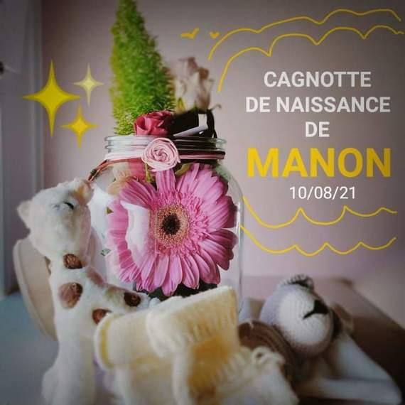 Cagnotte de naissance de Manon