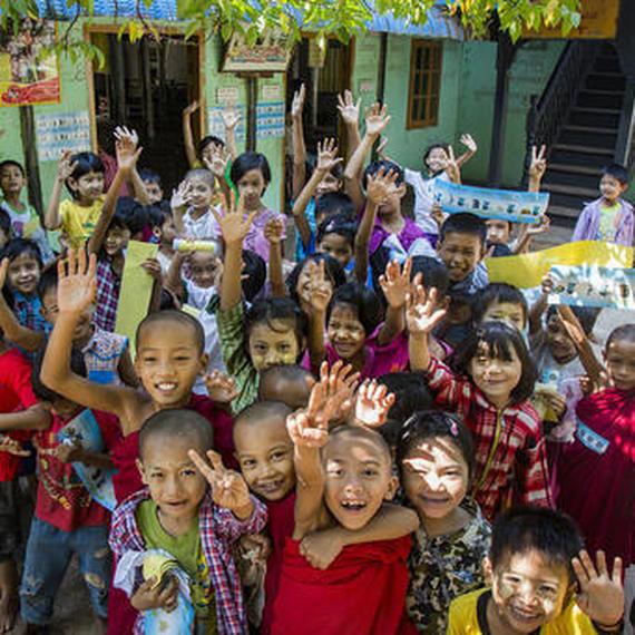 Aidons les enfants au Myanmar