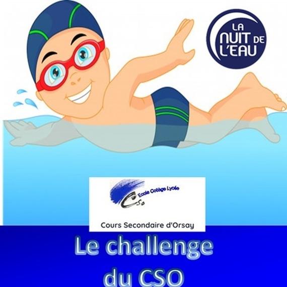 Challenge du CSO Nuit de l'Eau 2020