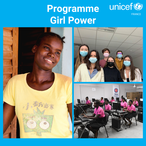UNI'TEAM : ensemble pour l'égalité des chances des jeunes filles en Côte d'Ivoire
