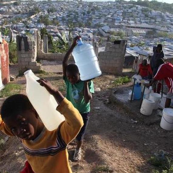 De l'eau pour les enfants d'Haïti !
