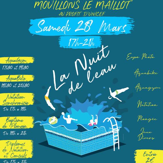 Nuit de l'Eau 2020 - Villejuif Natation