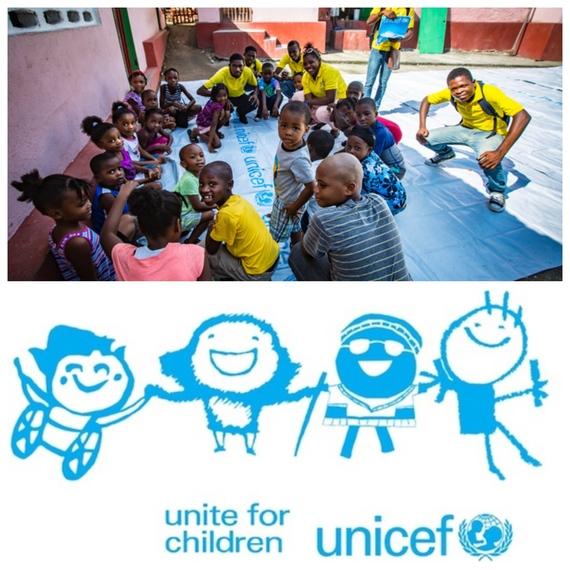 Collecte pour la Nuit de l'eau — EJM JA UNICEF