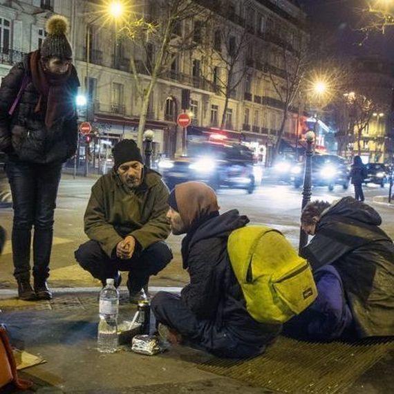 Bracelet connecté pour les SDF de Paris