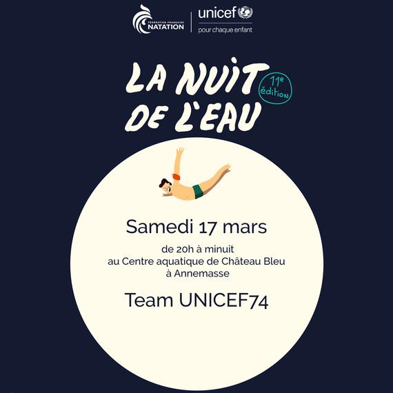 74 - La Nuit de l'Eau avec UNICEF Haute-Savoie