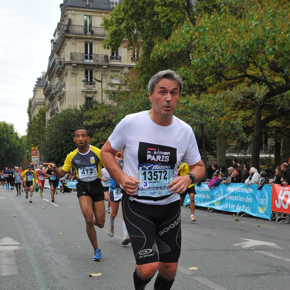 Marathon du Pôle Nord 2015