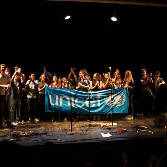 Les Jeunes Ambassadeurs de l'UNICEF du lycée Saint Michel de Picpus à Paris