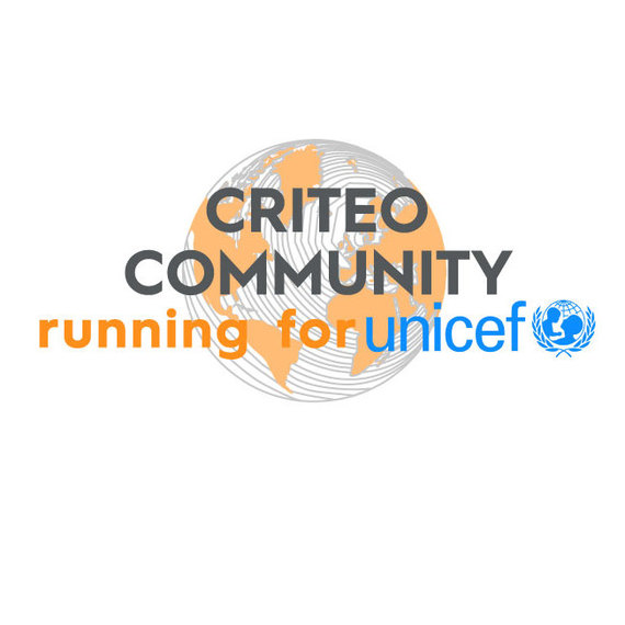 Criteo Commmunity running for UNICEF