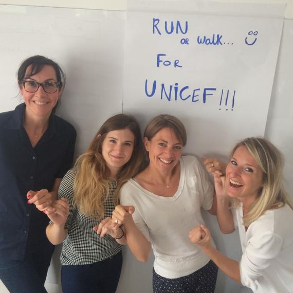Com Interne runs for Unicef !