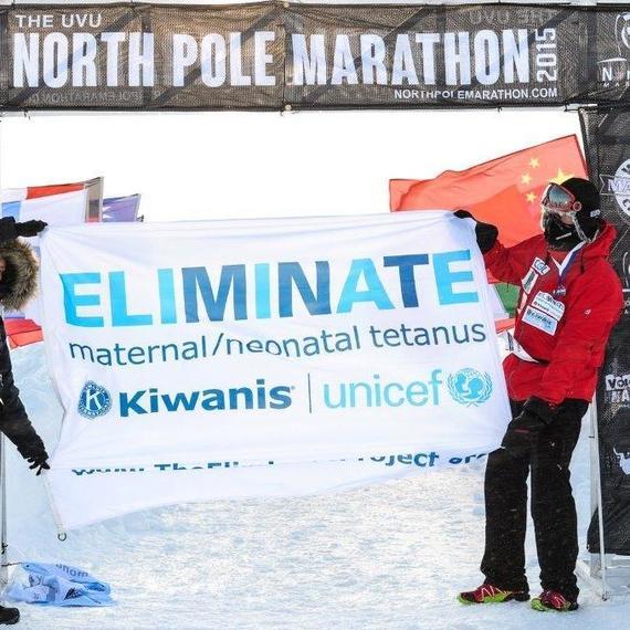 Marathon du Pôle Sud (Ice Marathon 2016)